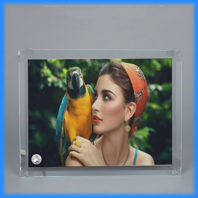 Sublimation Glass Photo Frame BL-05