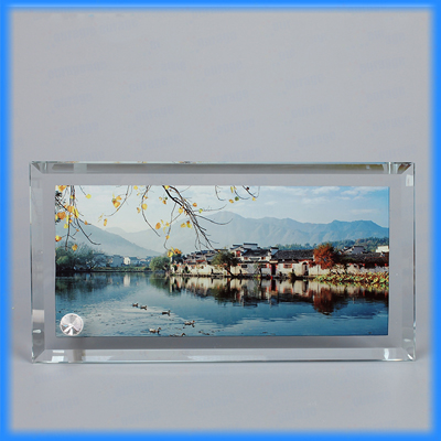 Sublimation Glass Photo Frame BL-08
