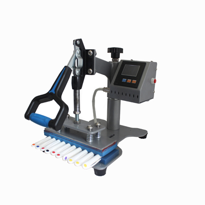 SS-1802 10 in 1 Digital Pen Heat Press Sublimation Making LOGO Printing Transfer Machine with Pens