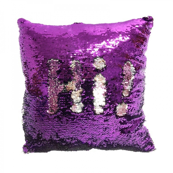 Sublimation Heat Transfer Sequin Pillow